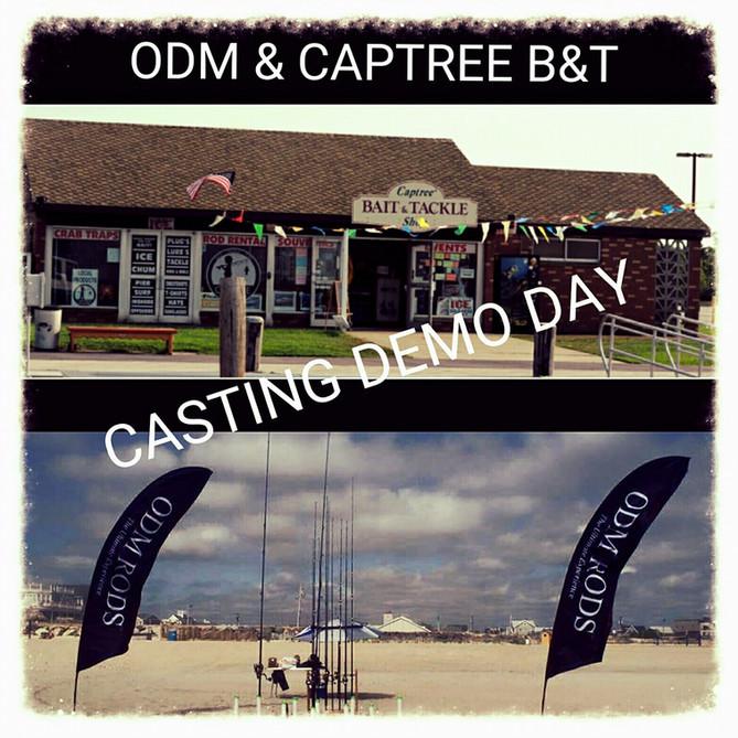 ODM & Captree Fuel, Bait & Tackle Casting Demo