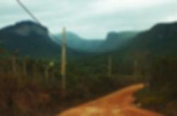 Chegada vista vale do capão caeté-açu