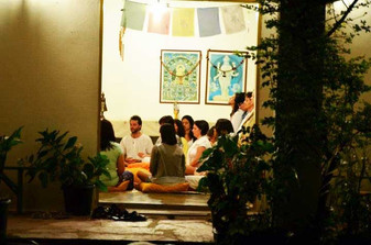 Espaços para eventos e meditação
