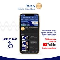 Rotary Club de Copacabana - MÍDIAS SOCIAIS | MATERIAL GRÁFICO