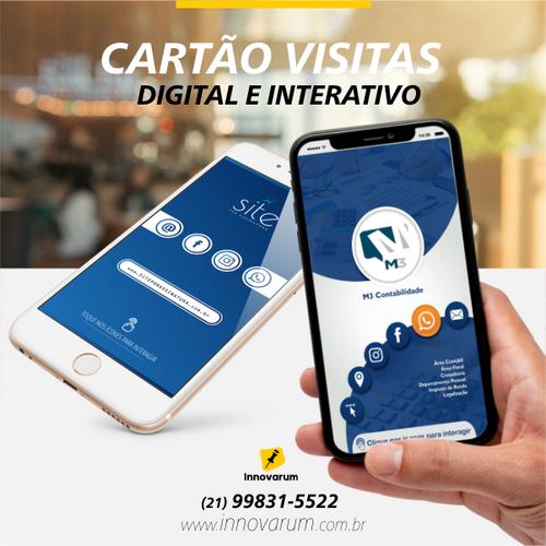 CARTÃO DIGITAL E INTERATIVO