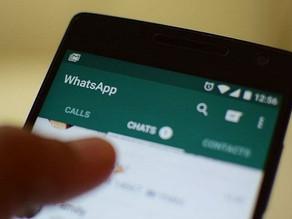WhatsApp reduz encaminhamento de mensagens por usuário.