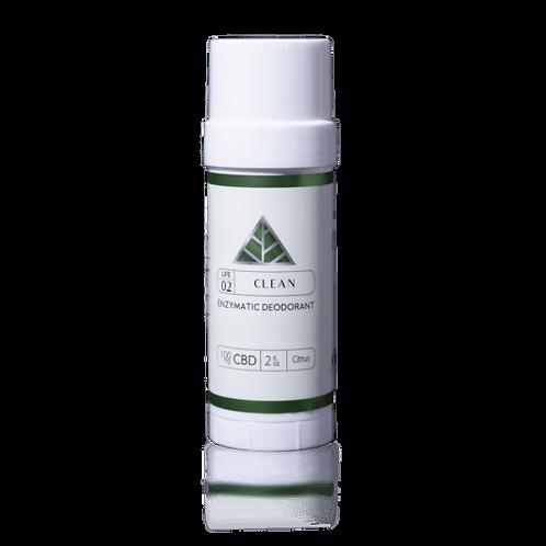 Natural Enzymatic Deodorant