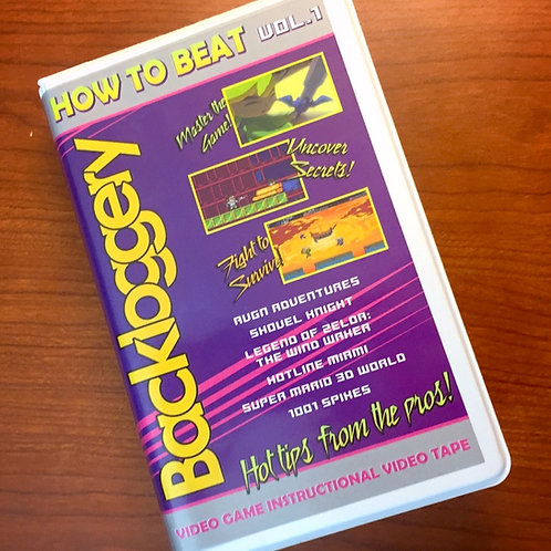 How to Beat Vol. 1 VHS Tape