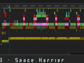 Space Harrier :: Series Showcase (w/Game Sack)