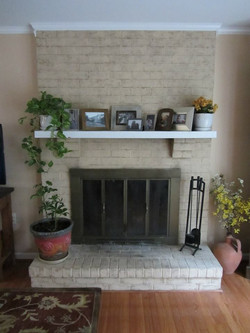 Fireplace Before