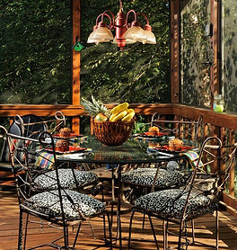 Redesigned Porch