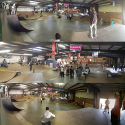 It's a crazy day here at Above Board! Our huge skate event hosted by _atomworldwide _stoked_official