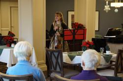 Christmas Performance for Seniors