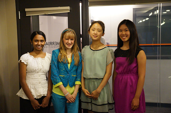 Carling Kwok, Sara Shajee, Lisa Shen, &