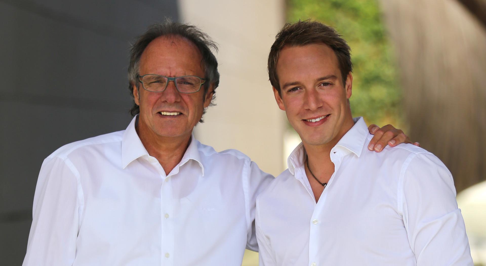Dieter und Patrick Fink