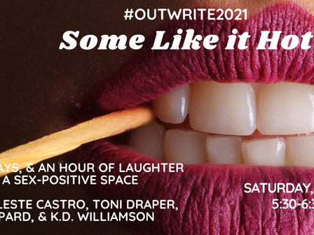 Some Like it Hot at OutWrite2021!