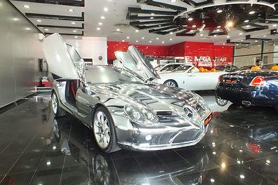 Mercedes-Benz SLR Chrome Body