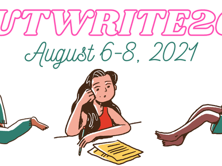 I'll be at OutWrite 2021!