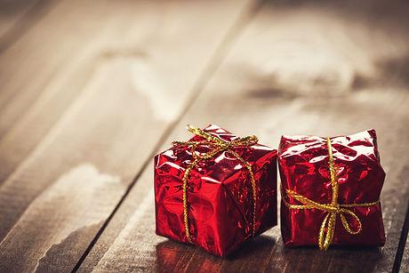 Weihnachts-Geschenk-Gutscheine