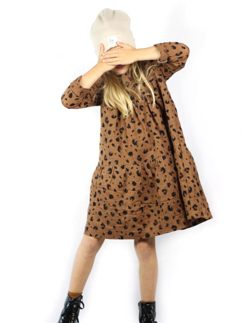 Leo-Musselin-Kleid