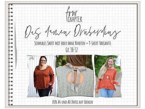 Das Damen Drüberding Shirt und T-Shirt Schnittmuster