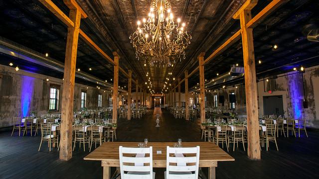 19 North Wedding Set up