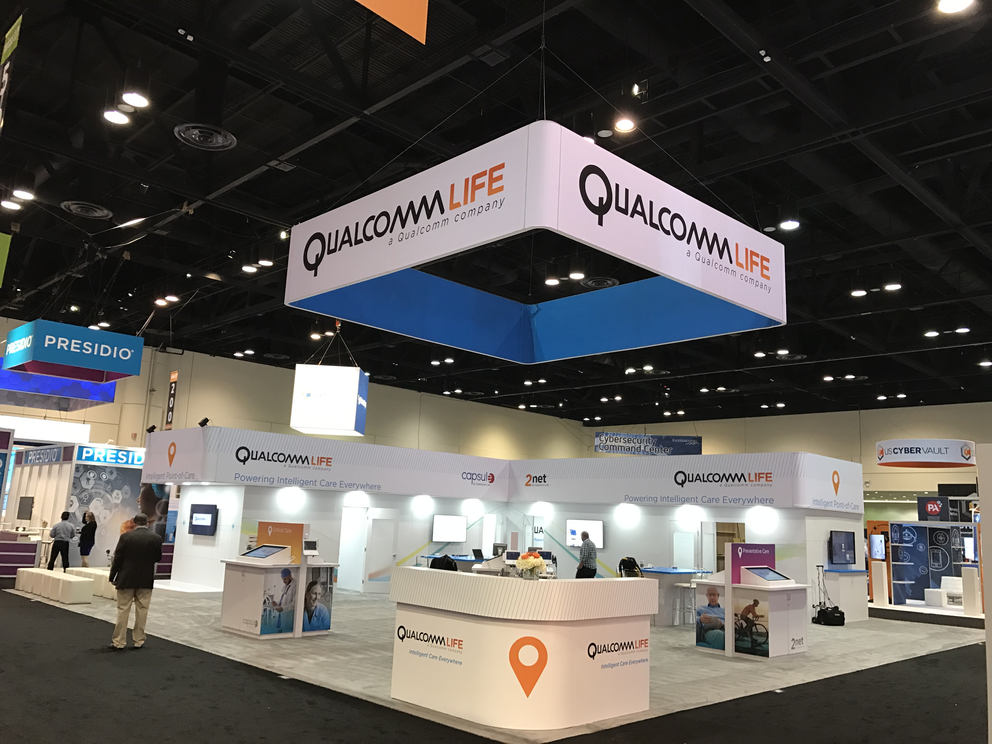 Pello Agency Axperiential marketing San Diego International Tradeshow Qualcomm Life
