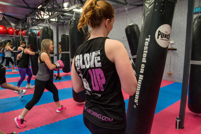 Anyone can learn Kickboxing