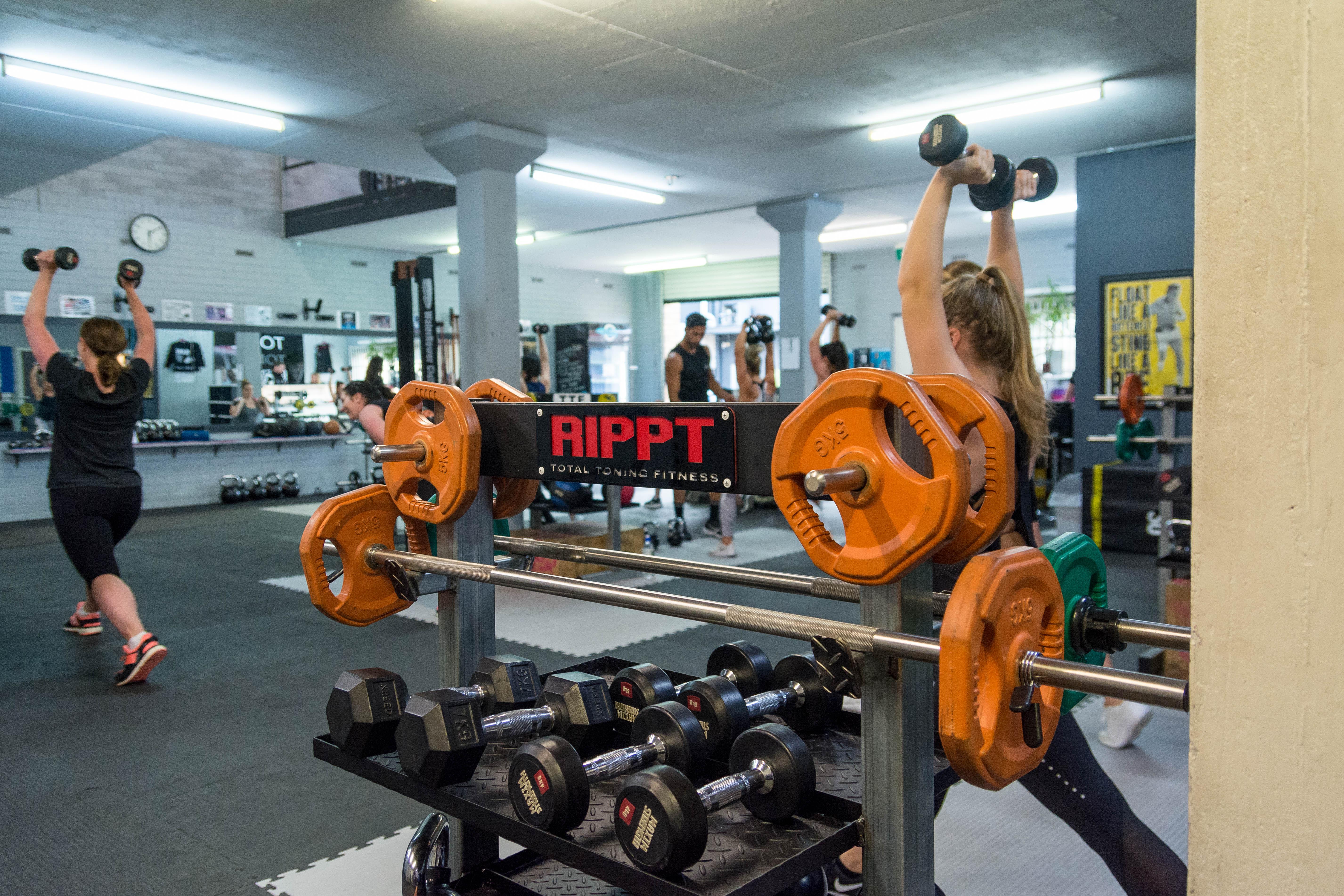 RIPPT cardio weights training