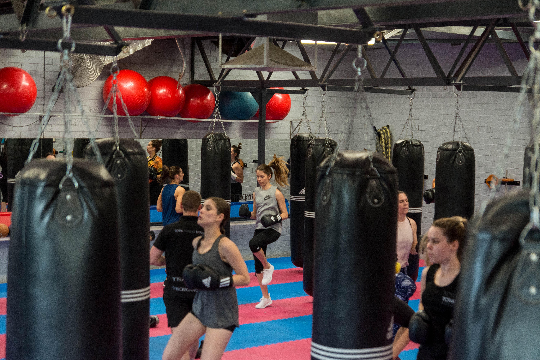 Kickboxing & strength classes