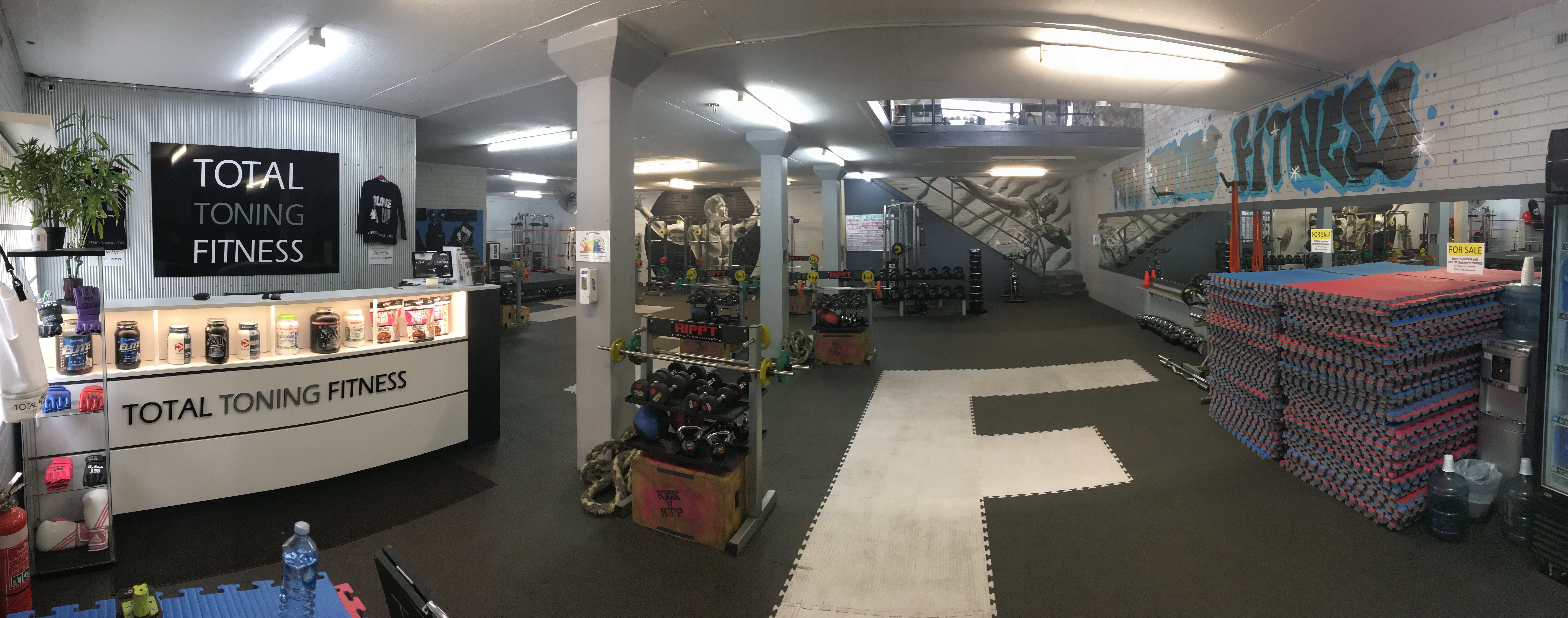 The RIPPT room - strength training