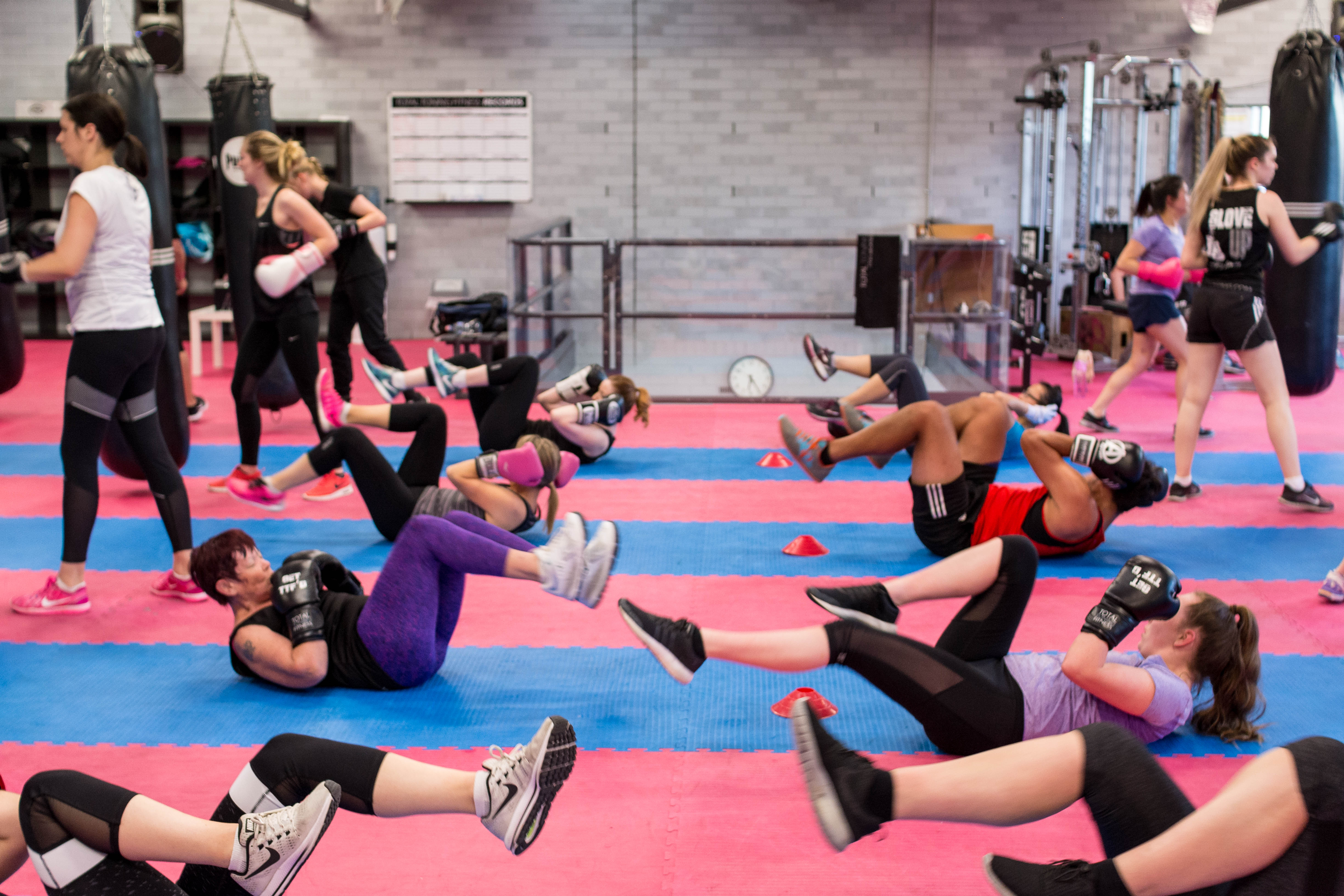 KICKBOXING AND CIRCUITS PERFECTED