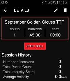 Golden gloves, hykso punch trackers, kickboxing fitness, personal training