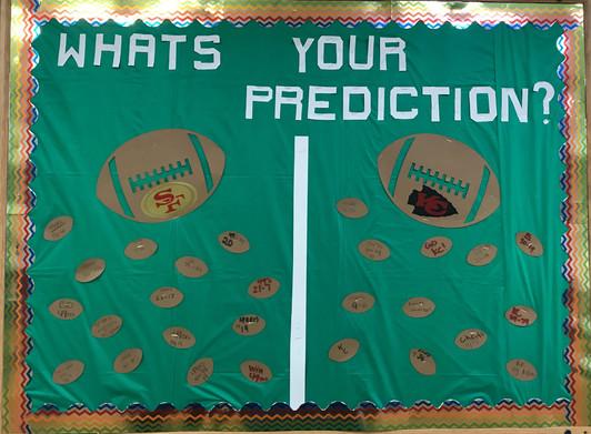 Resident Super Bowl Predictions