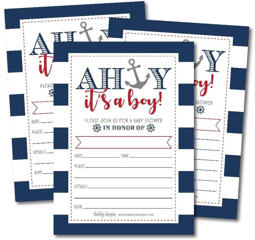 free baby shower invites templates