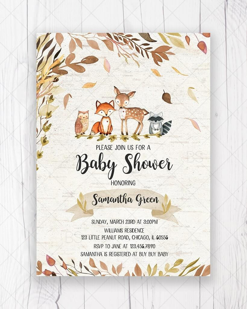 canadian baby shower invites