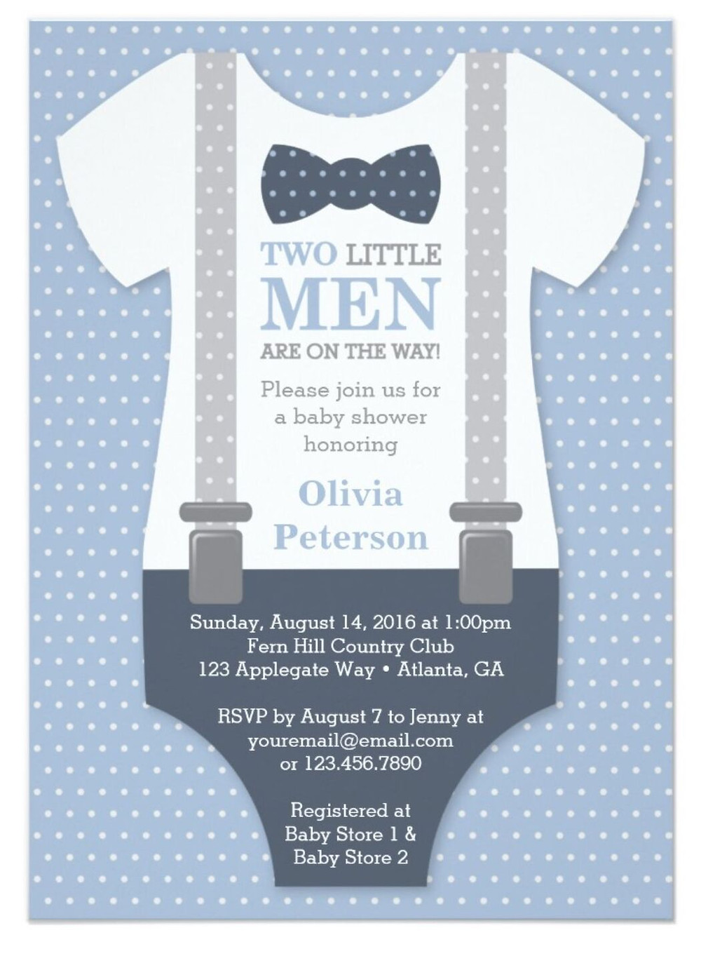 examples of baby shower invites