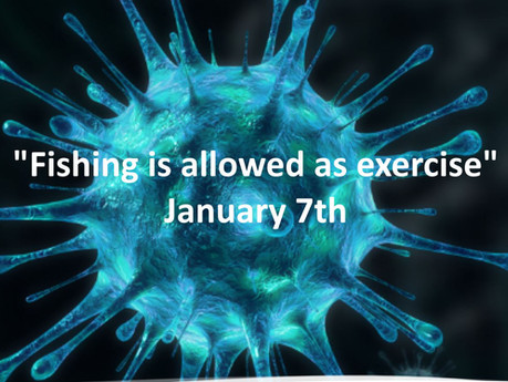 Fishing allowed as exercise