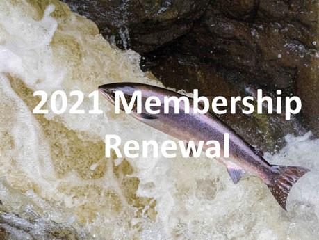 2021 Online Membership Renewal