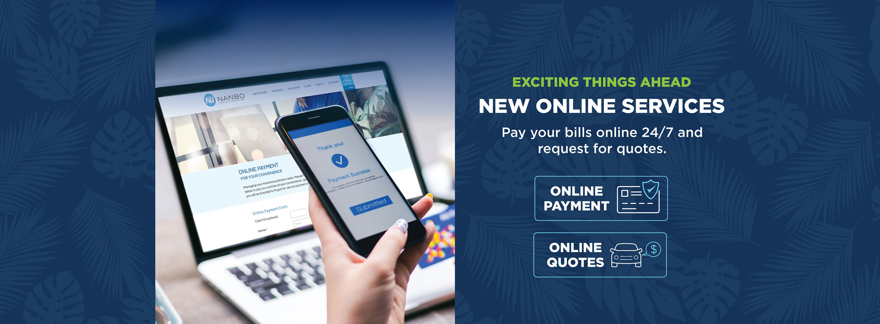 Nanbo Insurance - Online Payment