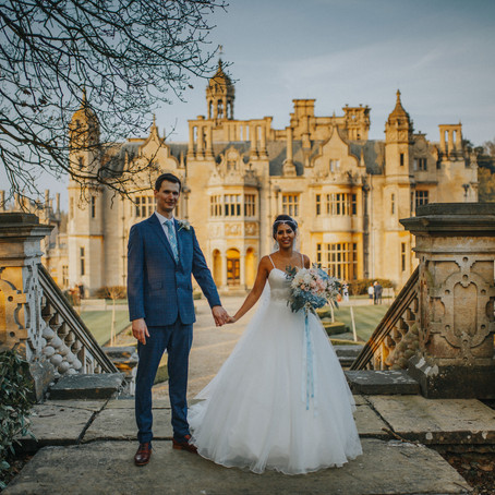 Harlaxton Manor Wedding ~ Natasha & Pawel
