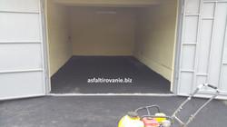 Асфальтирование гаража 1