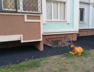 Асфальтироваие отмостки Харьков