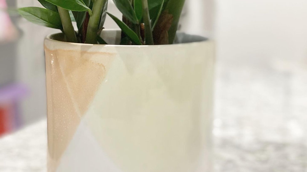 Water colour style planter