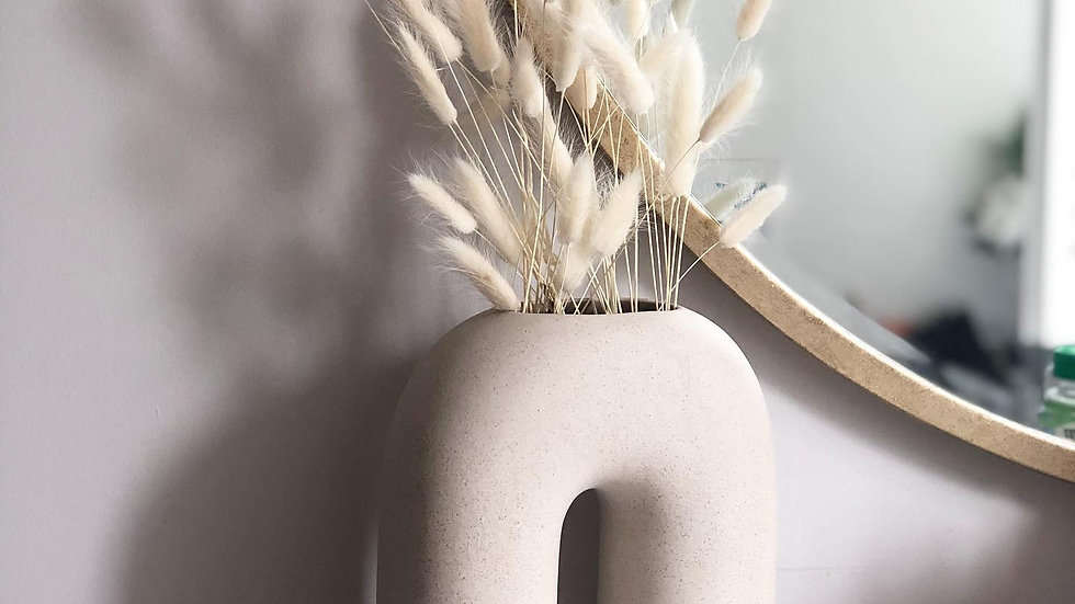 White-Bunch of Bunny tails