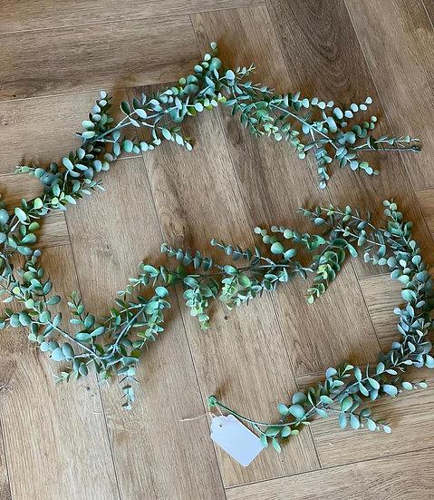 Faux eucalyptus garland 180cm