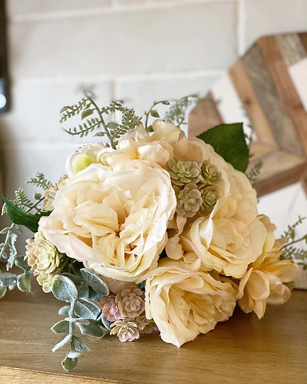 Rose & hydrangea faux bundle