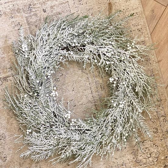 Snowdrop wreath/garland