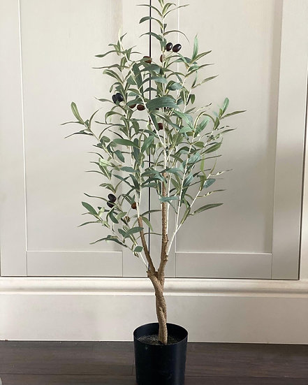 Faux Olive tree 90cm tall