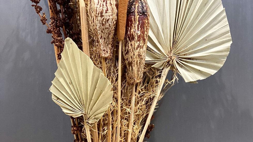Mixed dried grass bouquet