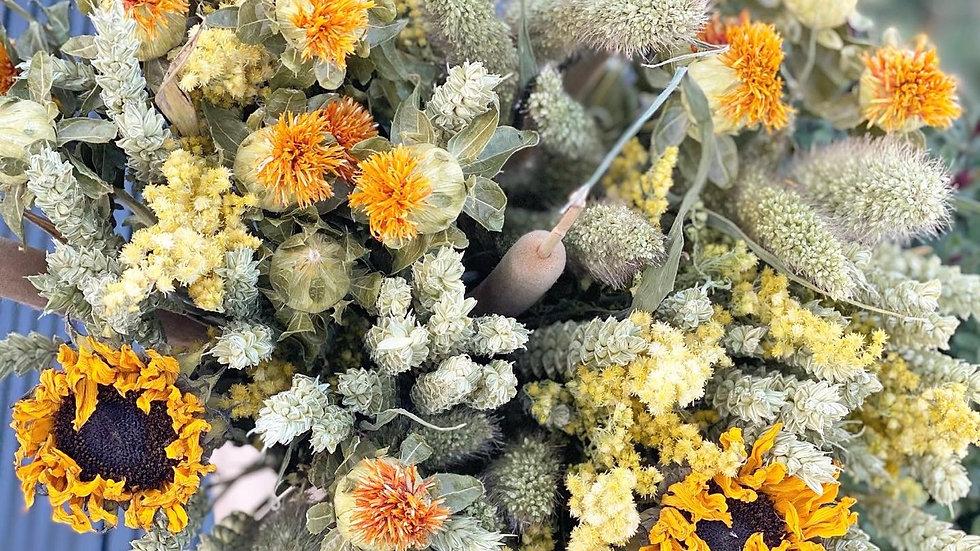 Joy large sunflower bouquet