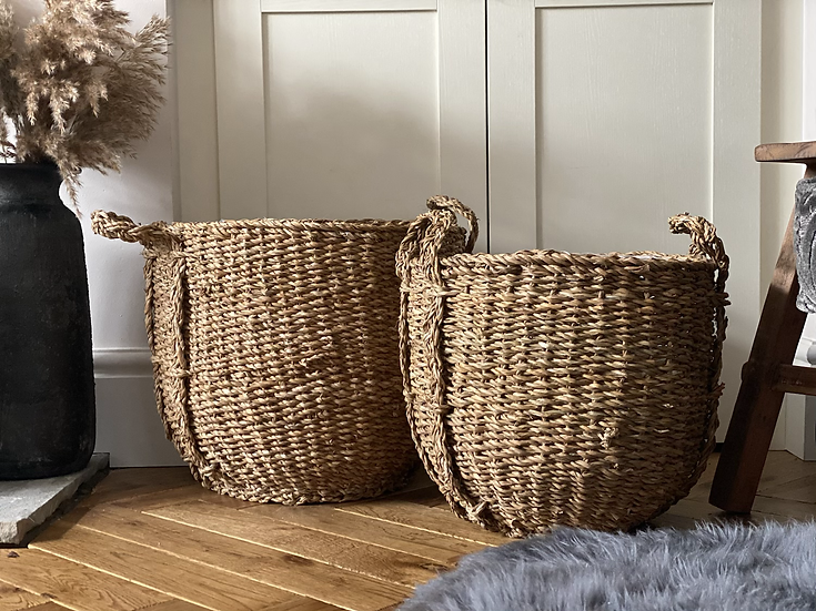 3- middle sized basket