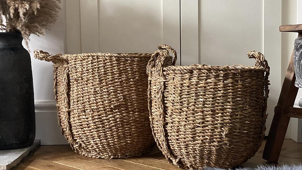 3- middle sized basket