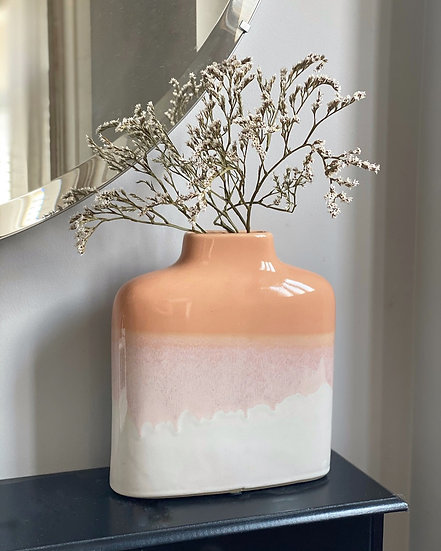 The peachy vase